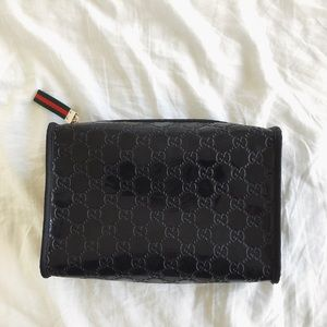Authentic Gucci Parfums Cosmetic Bag